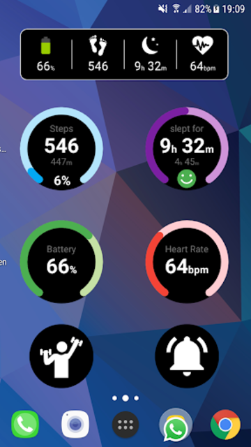 Notify & Fitness for Mi Band screenshot 8