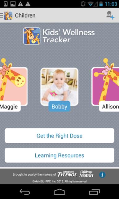 Kids' Wellness Tracker screenshot 1