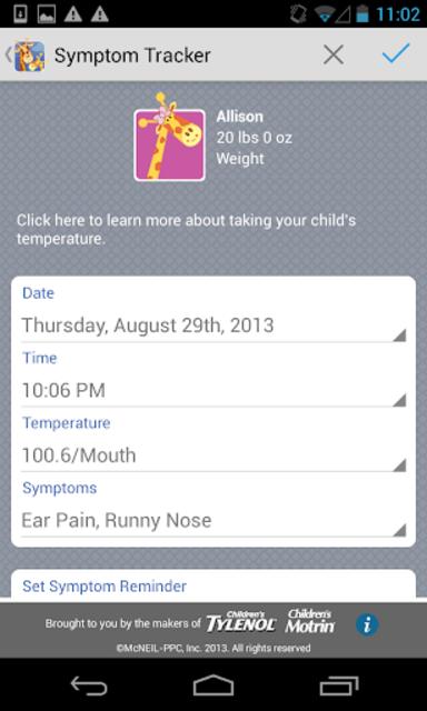 Kids' Wellness Tracker screenshot 4
