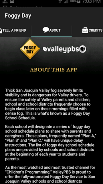 Fog Delay Schedule screenshot 3