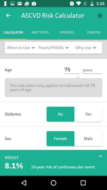 MDCalc Medical Calculator screenshot 1