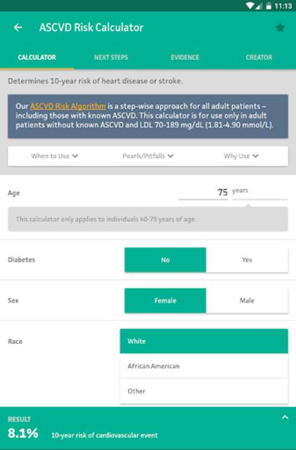MDCalc Medical Calculator screenshot 17