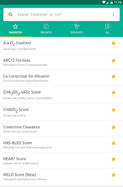 MDCalc Medical Calculator screenshot 22