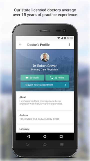 MDLIVE: Talk to a Doctor 24/7 screenshot 3