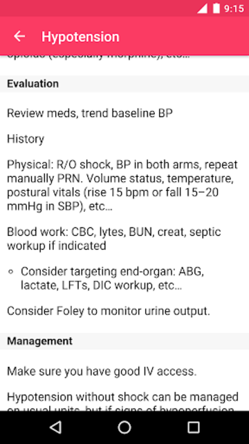 MD on Call - Practical Guide 2019 screenshot 2