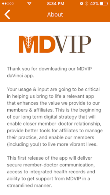 MDVIP Connect screenshot 4