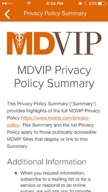 MDVIP Connect screenshot 5