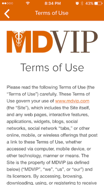 MDVIP Connect screenshot 6
