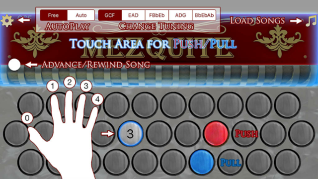 Mezquite Accordion Free screenshot 2