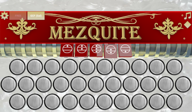 Mezquite Accordion Free screenshot 5