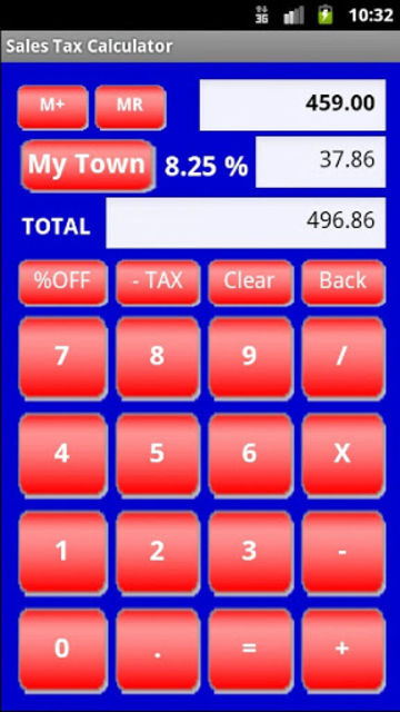 Sales Tax Discount Calculator screenshot 2