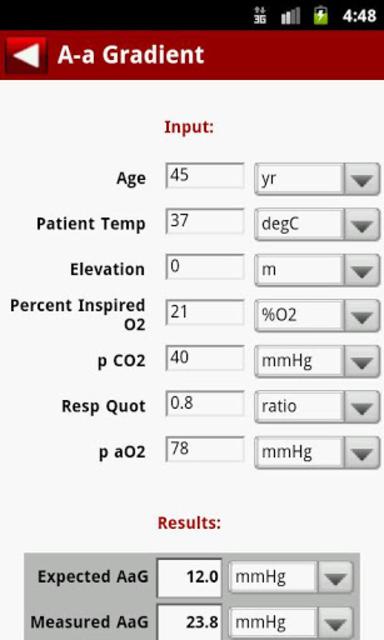 EBMcalc Complete screenshot 3