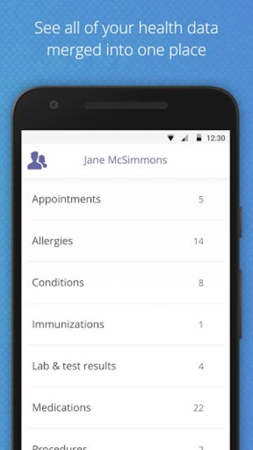 Medfusion Plus screenshot 1