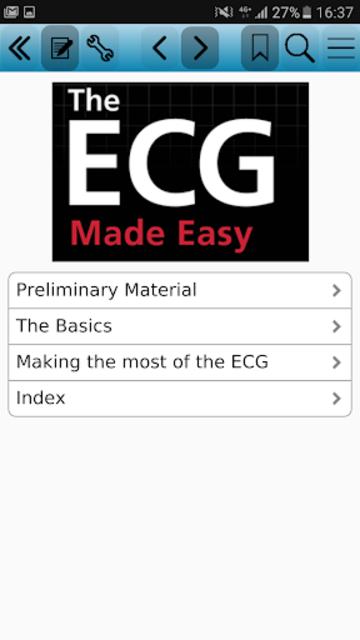 The ECG Made Easy, 8e screenshot 1