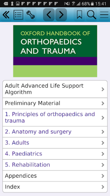Oxford Handbook of Ortho Traum screenshot 1