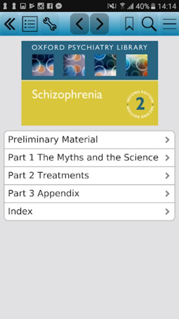 Schizophrenia (Oxford Psychiatry Library), 2ed screenshot 1