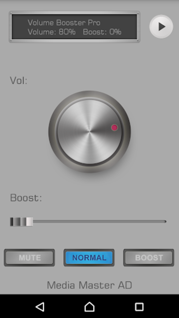 Volume Booster Pro screenshot 2