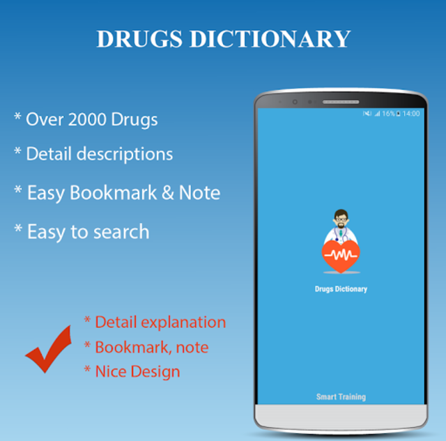 Drugs Dictionary Offline - Drug A-Z List screenshot 1