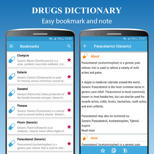 Drugs Dictionary Offline - Drug A-Z List screenshot 4