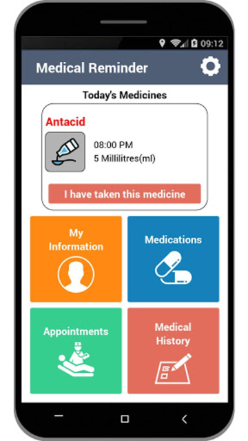 Medical Reminder–Pill Alarm and Appointment Alerts screenshot 1