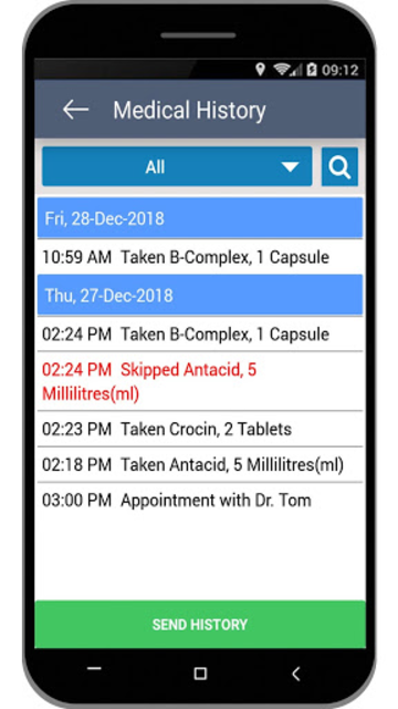 Medical Reminder–Pill Alarm and Appointment Alerts screenshot 7