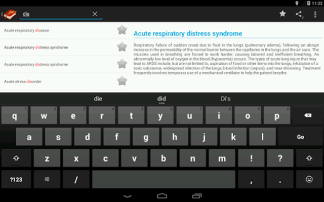 Medical Terminology Dictionary:Search&Vocabulary screenshot 17