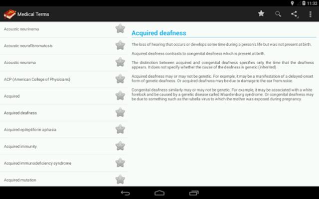 Medical terms (OFFLINE) screenshot 9