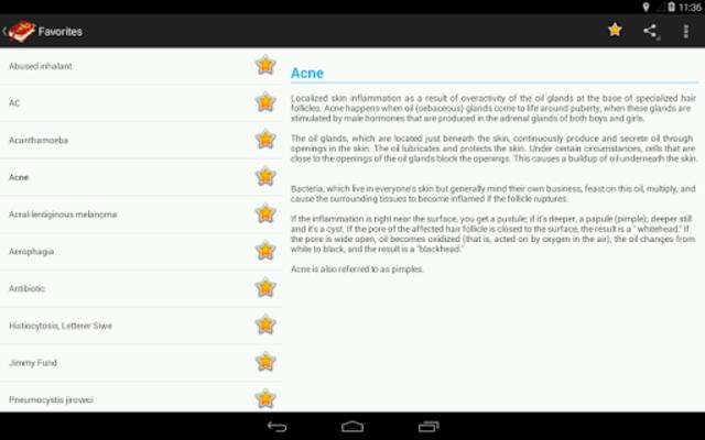 Medical terms (OFFLINE) screenshot 12