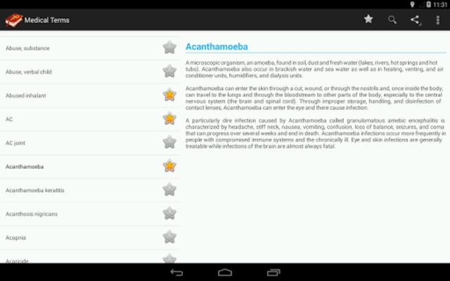 Medical terms (OFFLINE) screenshot 15