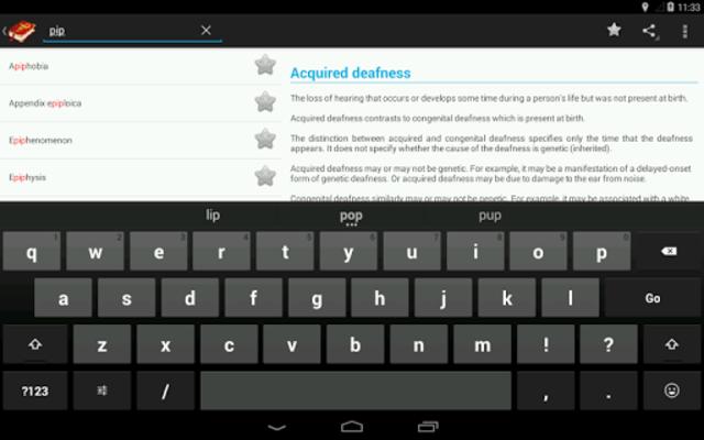 Medical terms (OFFLINE) screenshot 16