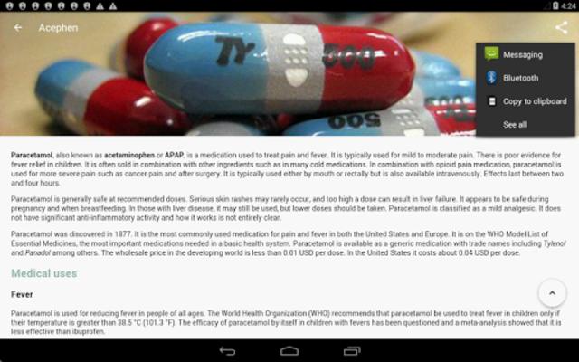 Drugs Dictionary screenshot 16