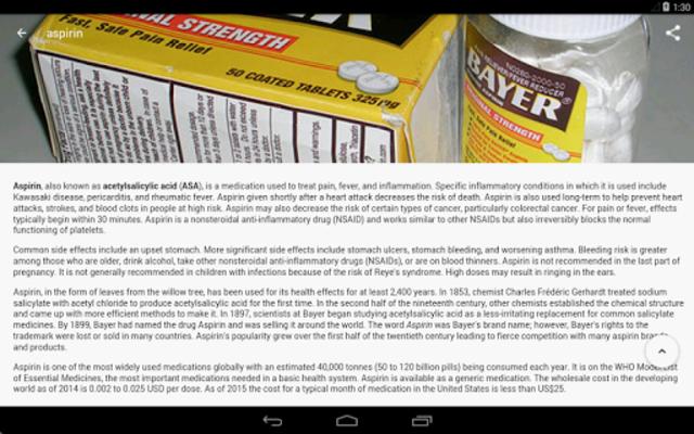 Drugs Dictionary screenshot 18