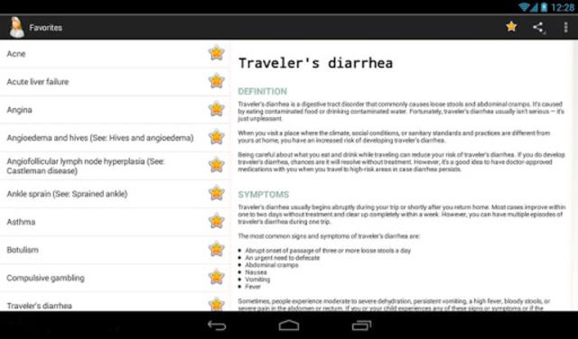 Diseases Dictionary screenshot 12