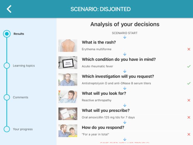 Clinical Sense - Improve Your Clinical Skills screenshot 14