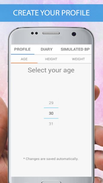 Blood Pressure Checker Diary - BP Info -BP Tracker screenshot 4