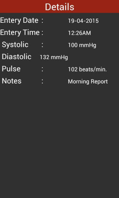 Blood Pressure Checker Diary - BP Info -BP Tracker screenshot 8
