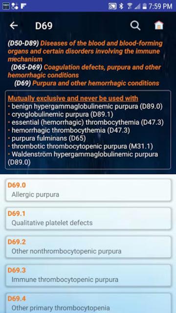 Medical Code Lookup screenshot 5