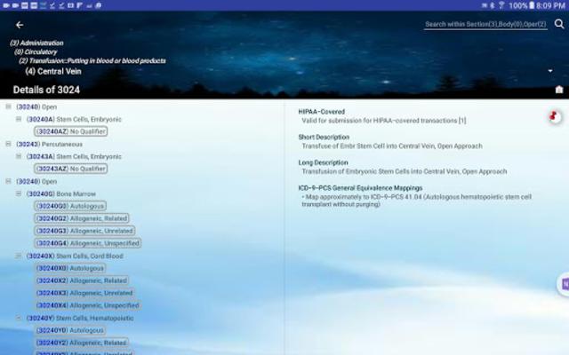 Medical Code Lookup screenshot 16