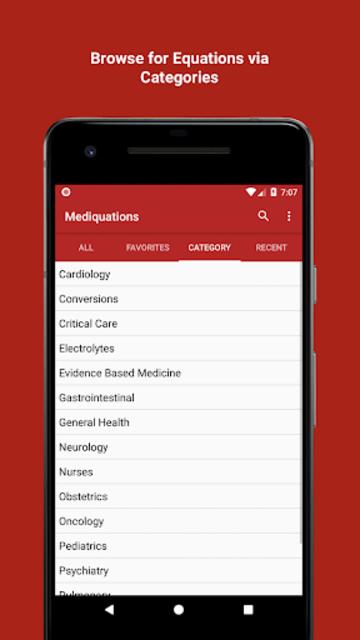 Mediquations Medical Calculator screenshot 2