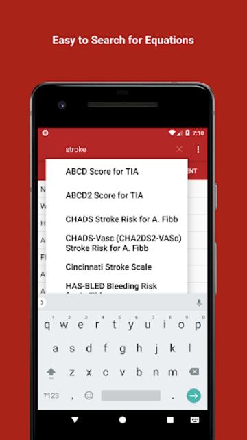 Mediquations Medical Calculator screenshot 4