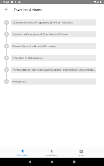 CURRENT Medical Diagnosis and Treatment 2019 screenshot 24