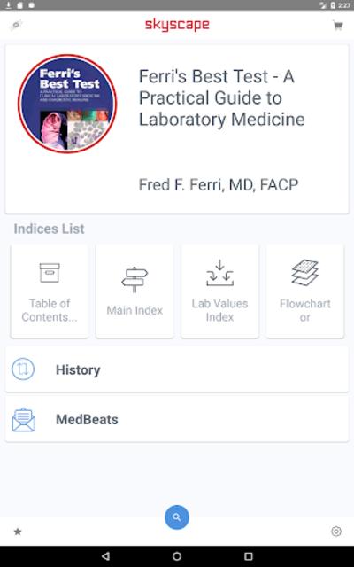 Ferri's Best Test Guide to 300+ lab tests & ~ cost screenshot 9