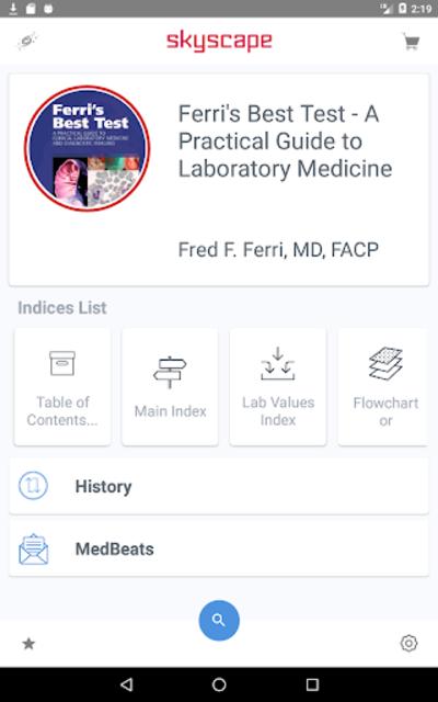Ferri's Best Test Guide to 300+ lab tests & ~ cost screenshot 17