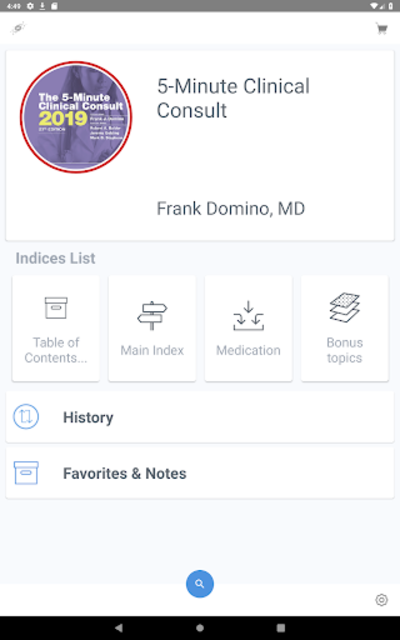 5 Minute Clinical Consult 2019 (5MCC) App screenshot 9