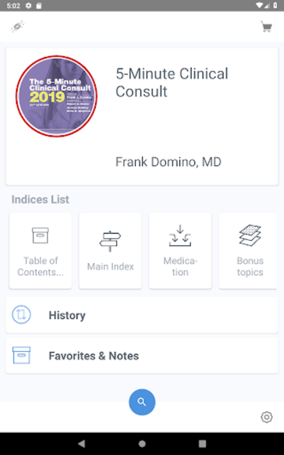 5 Minute Clinical Consult 2019 (5MCC) App screenshot 17