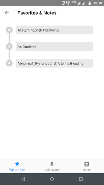 5 Minute Clinical Consult 2019 (5MCC) App screenshot 6