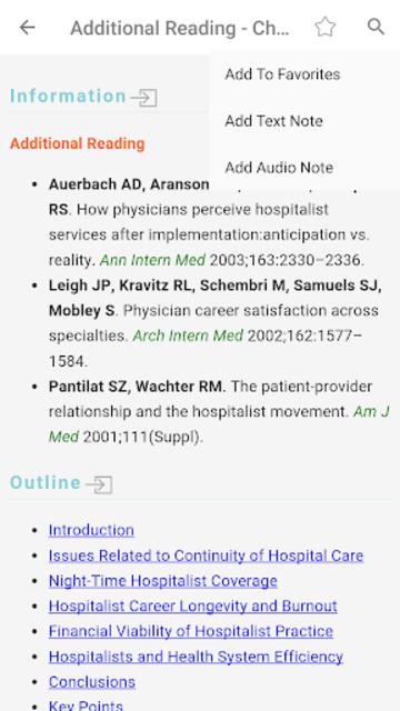 Hospital Medicine Prac & Evidence-Based Guidelines screenshot 2