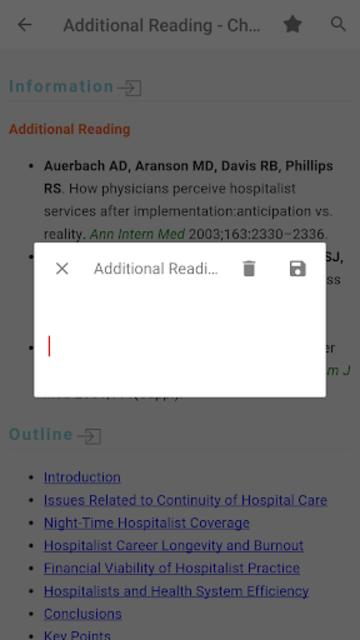 Hospital Medicine Prac & Evidence-Based Guidelines screenshot 3