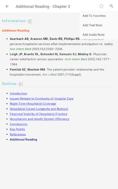 Hospital Medicine Prac & Evidence-Based Guidelines screenshot 18