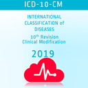 Icon for ICD-10-CM Codes App with 2019 Updates